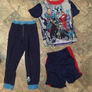 BOGO Justice League Pajamas